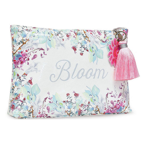 "Large Accessory Pouch ""Bloom""