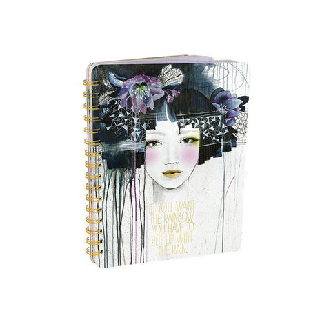 "Notebook ""Rain Child""