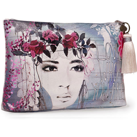 "Large Accessory Pouch ""Fireweed""