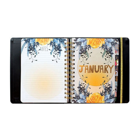 "Weekly Planner 2018 ""Gypsy Rose""