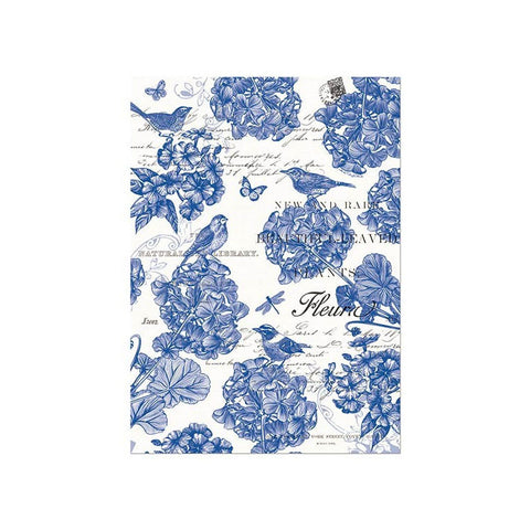 "Kitchen Towel ""Indigo Blue""