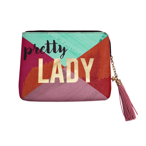 "Zip Pouch ""Lady""