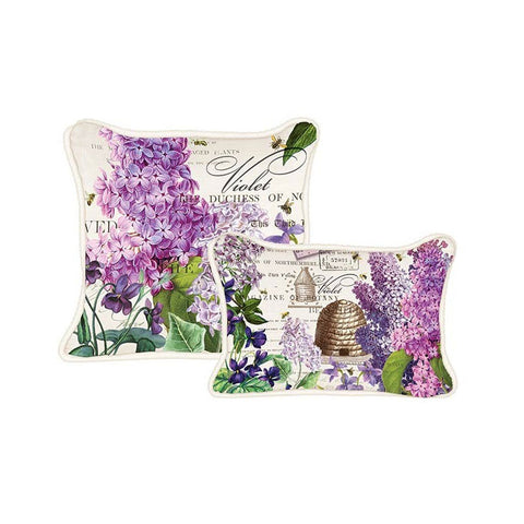 "Pillow ""Lilac and Violets""