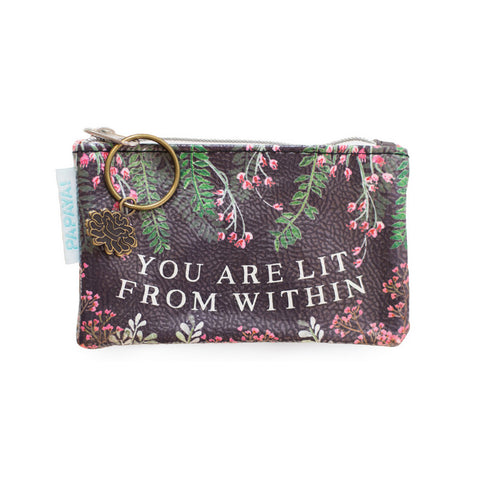 "Coin Purse ""Watercolor Garden""