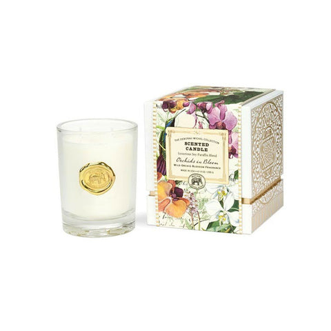 "Scented Candle ""Orchids in Bloom""