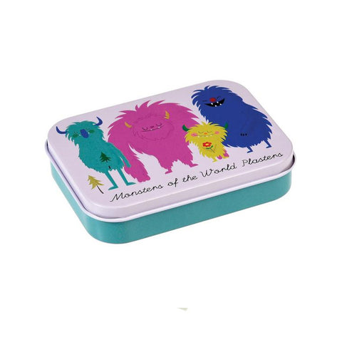 "Monsters Plasters in a Tin|Pansements ""Monsters"""