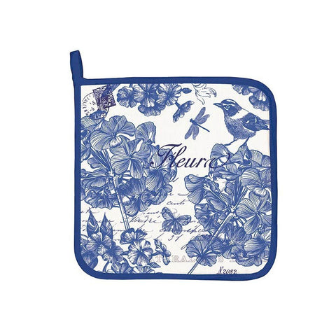 "Potholder ""Indigo Cotton""