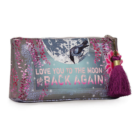 "Small Accessory Bag ""Moon and Back""