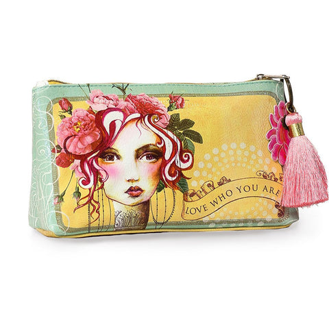 "Small Accessory Bag ""Rose""