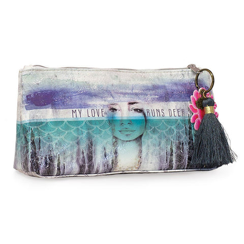 "Small Accessory Bag ""Deep Love""