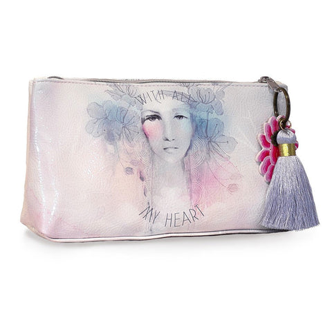 "Small Accessory Bag ""With all my Heart""