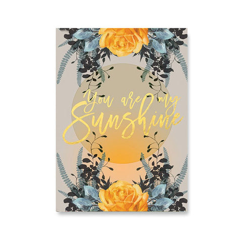 "Greeting Card ""Sunshine""