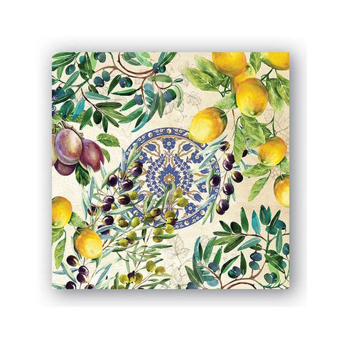 "Tuscan Grove Luncheon Napkins|Serviettes de table ""Tuscan Grove"""