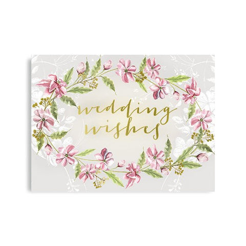 "Greeting Card ""Wedding Wishes""