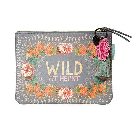 "Pocket Clutch ""Peachy Wild""
