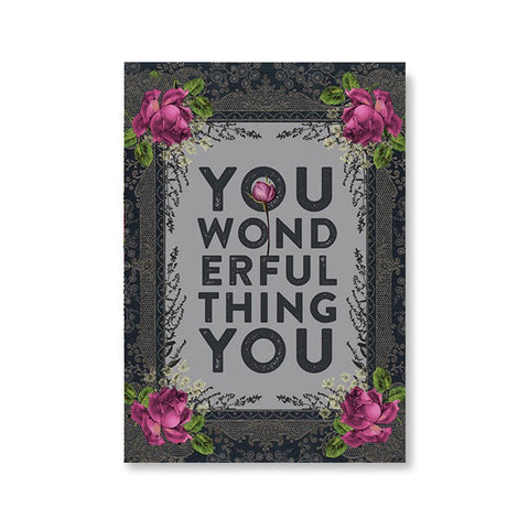 "Greeting Card ""Wonderful Thing""