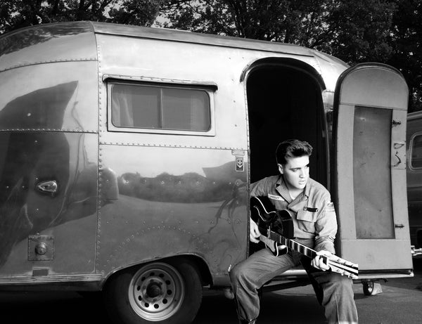 Elvis Presley's Airstream trailer