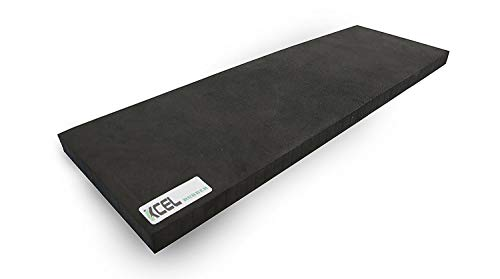 "Xcel Yoga Knee Pad - Compact Exercise Pad for Knee, Elbow and Wrist Comfort 17"" x 8"" x 1"" Thick"