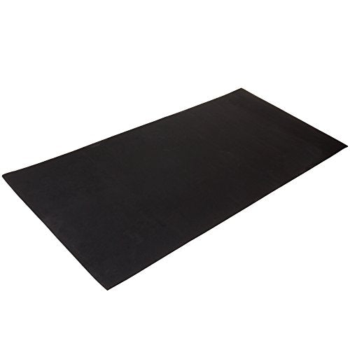 "Xcel Treadmill Mat - 35"" x 67"" x .33"" Anti-Fatigue EPDM Closed Cell Rubber Exercise Mat"