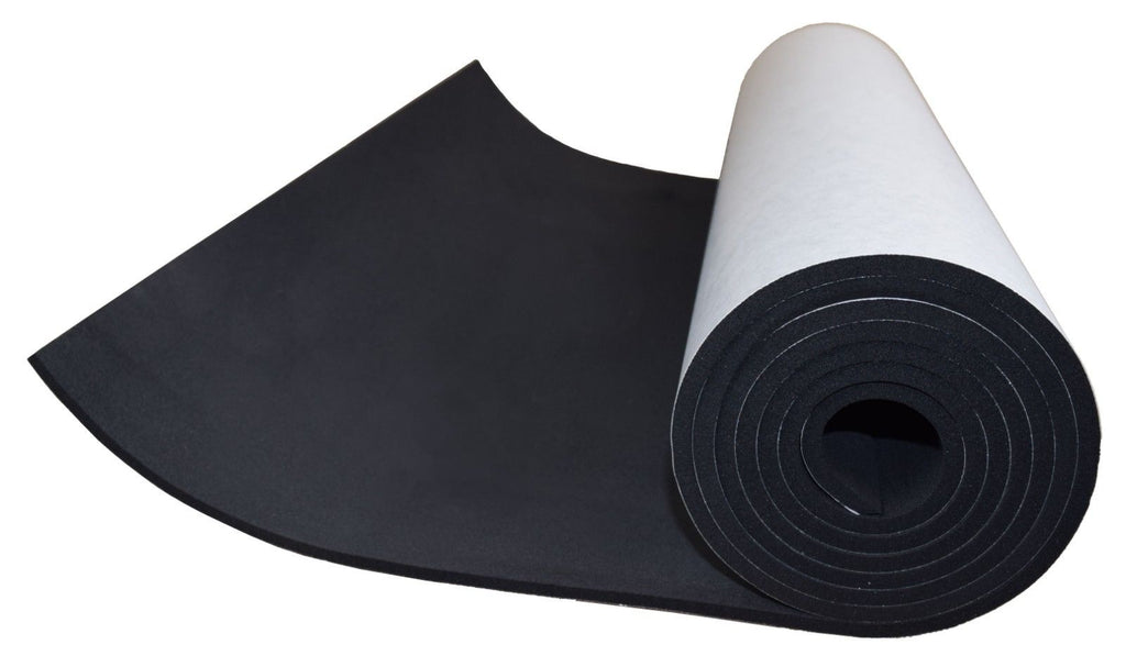 XCEL Sponge Neoprene Sheet with Adhesive 72 in x 17 in x 1/4 in