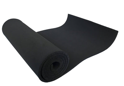 XCEL - Medium Soft Cosplay Craft Foam Roll, Black, Size 54 Inch x 12 Inch x 1/4