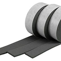 XCEL - Pure EPDM Weather Stripping Foam Rubber Tape with Adhesive, Size 13 Feet x 1 Inch x 1/8 Inch