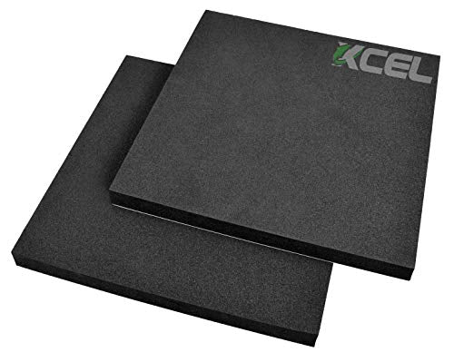 "XCEL Acoustic Insulation Studio Pads w/Adhesive 12"" x 12"" x 1"" (Pack of 2)"