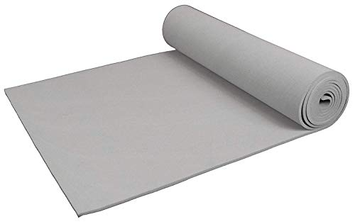 "XCEL Extra Soft Cosplay Craft Foam Roll Grey 54"" x 12"" x 1/8"" Minor Defects"
