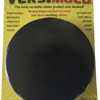 Black Versimold Moldable Silicone Rubber - 1/3 Lbs. Puck
