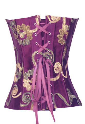 Holiday Plum Corset