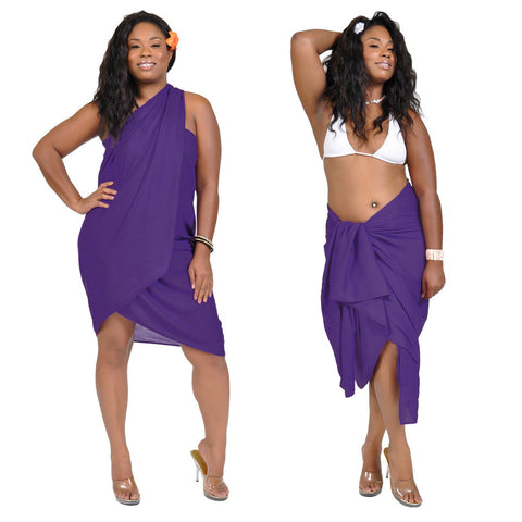 Solid Color Plus Size Sarong