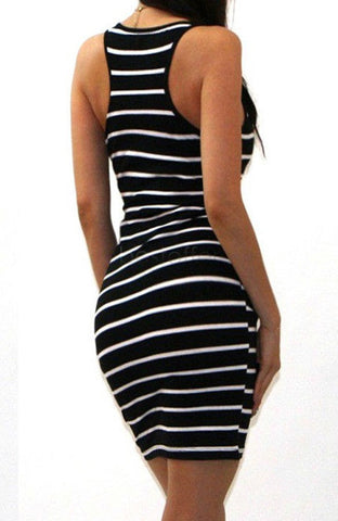 Striped Beach Dress