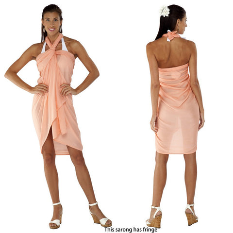 Solid Pastel Color Sarongs