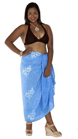 Hibiscus Flower Plus Size Sarong