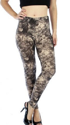 Tiger Script Leggings
