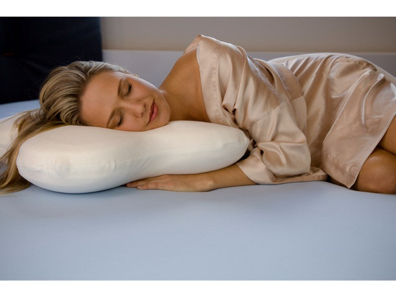The Butterfly Front Sleeper Pillow Rested Sleep