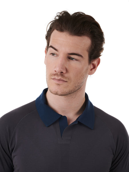 Men's Polo, by Dagsmejan - Exclusively at Rested Sleep Engineering