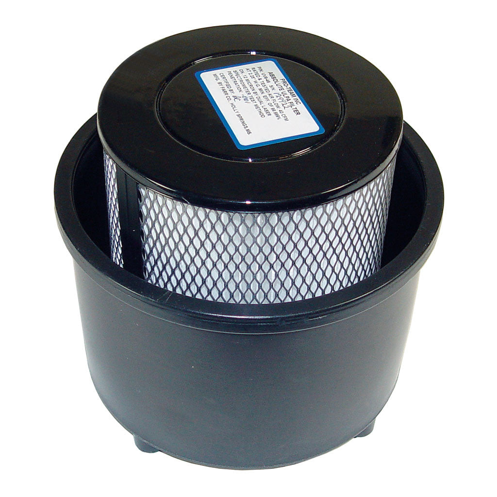 ProTeam 104275 True ULPA Filter Assembly Complete w/ Bottom Cap for LineVacer Backpack Vacuum