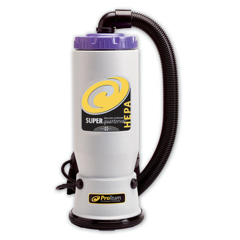 ProTeam Super QuarterVac HEPA Backpack Vacuum