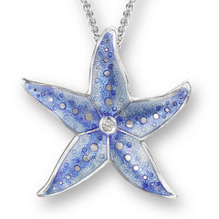 Nicole Barr Enamel Starfish Pendant at Amber Bay