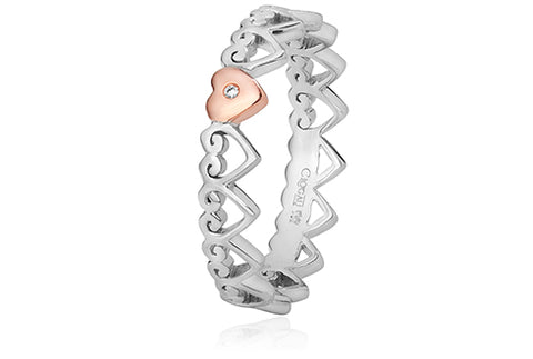 Clogau Heart Stacking Ring