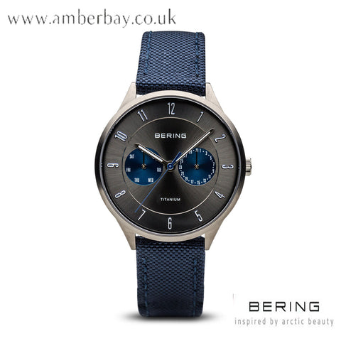Bering Gents Blue Multifunction Watch 11539-873