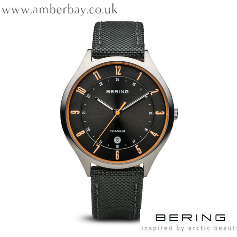 Bering Gents Titanium Watch  11739-879