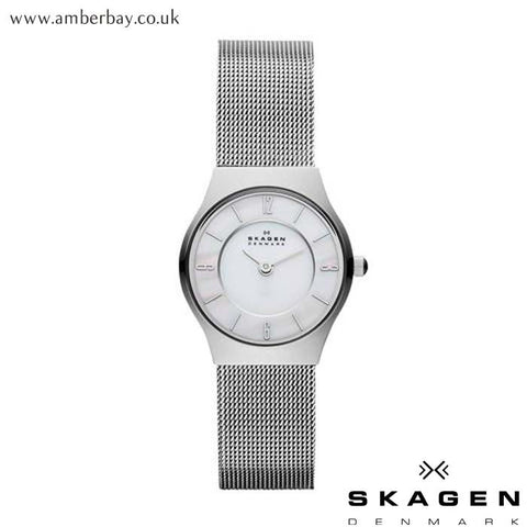 Ladies Skagen Grenen Mesh Watch 233XSSS at Amber Bay