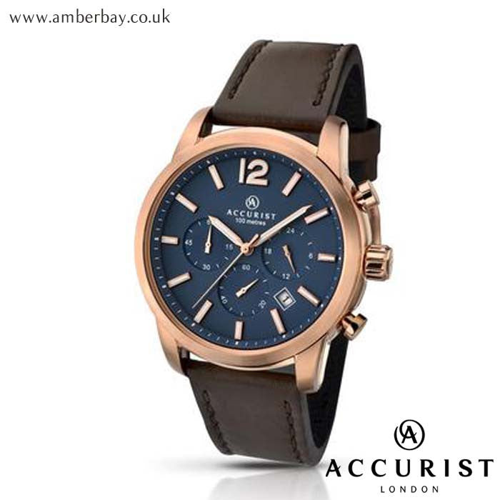 Gents Chronograph Accurist Watch 7021 at Amber Bay