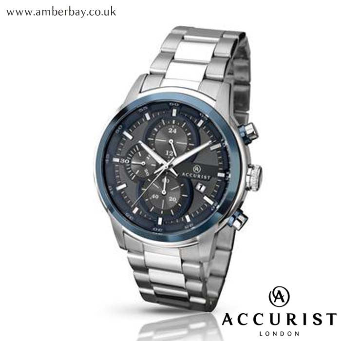 Gents Chronograph Accurist Watch 7039 at Amber Bay