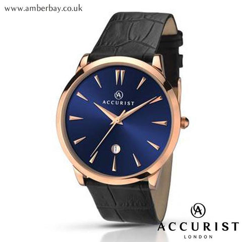 Gents Classic Accurist Watch 7061 at Amber Bay