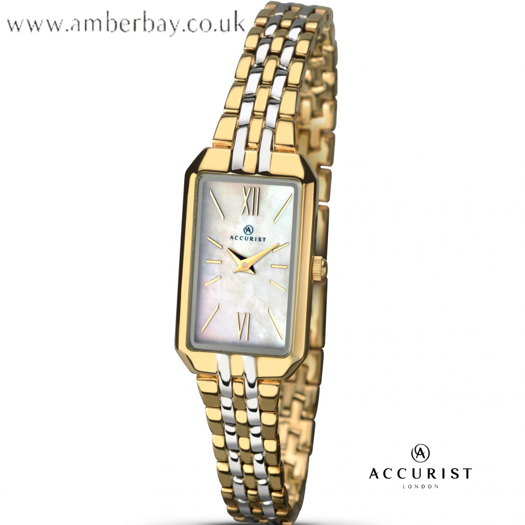Accurist Ladies Two Tone Watch 8065