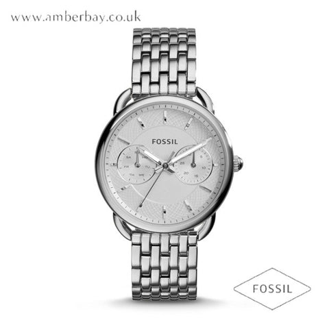 Fossil ES3712 Ladies Tailor Multifunction Stainless Steel Watch