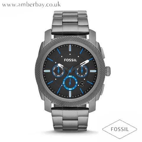 Fossil FS4931 Gents Machine Stainless Steel Chronograph Watch